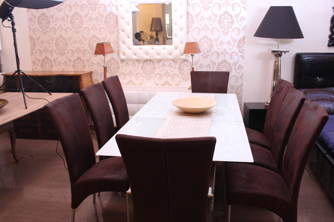 Wooden Dining Tables in Nigeria - Lagos - Abuja