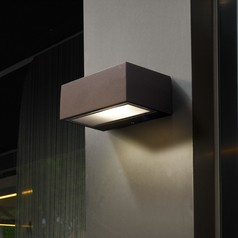 buy Nemesis Grey Outdoor Wall Light 05 9177