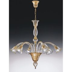 buy 24k Gold Chandelier Italy Laguna