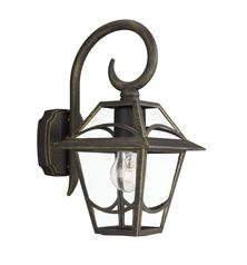 buy BABYLON Wall Lantern BlackBrush-SPEPMS05452