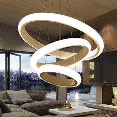 buy Ring LED Chandelier