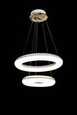buy Round Double Pendant LED