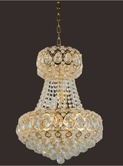 buy Gold Crystal Chandelier 450
