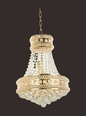 buy Gold Crystal Chandelier 550b