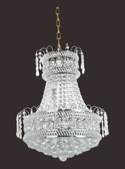buy Gold Crystal Chandelier 600 Silver