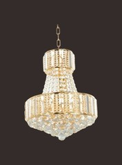 buy Gold Crystal Chandelier 500