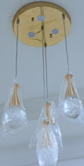 buy Designer Gold Pendant Chandelier