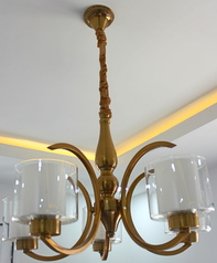 buy Cup Chandelier Gold 01