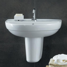 Selenova wash basin semi pedestal   50cm.index