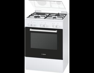 Bosch 60cm freestanding 3gas 1elct cooker %28white%29   hga23a120s abuja lagos portharcourt nigeria lane7.index