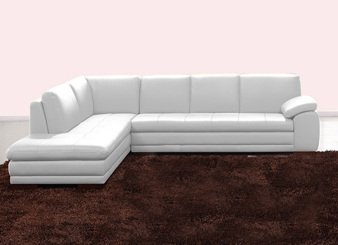 Buy White Sectional Sofa on lane7.ng