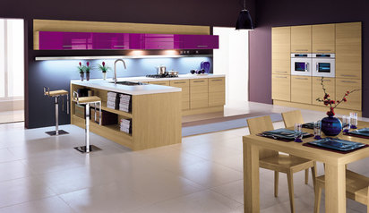 Kitchen cabinet purple brown with island lagos abuja phc nigeria  flavour.index