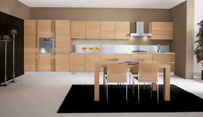 Modern kitchen cabinet biege with island lagos abuja phc nigeria lane7 design   koredeb.index