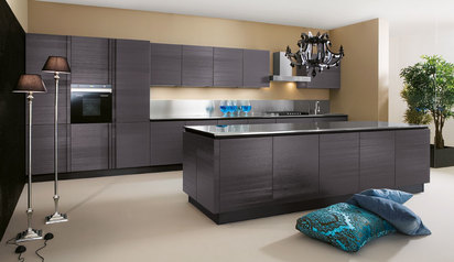 Modern kitchen cabinet brown with island lagos abuja phc nigeria lane7 design   eedris.index