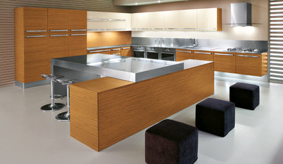 Modern kitchen cabinet design with island timid.index