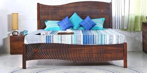 buy Asa  Bed + 2 Bedsides