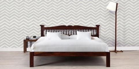 buy Di'ja  Bed + 2 Bedsides