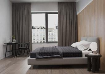 buy Wood Paneled Bed