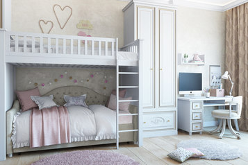 buy All White Kids Beds Design