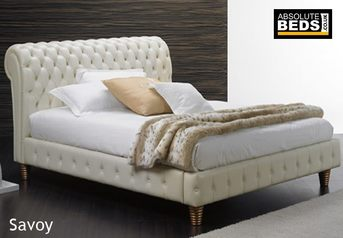 Leather platform bed.index