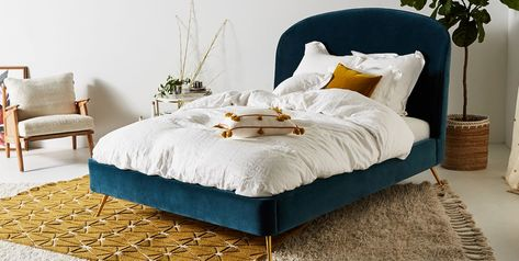 Modern queen bed  abuja lagos portharcourt nigeria lane7.index
