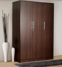 buy Crown designer 3 door Wardrobe