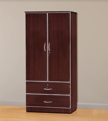 buy Contemporary 2 door Wardrobe