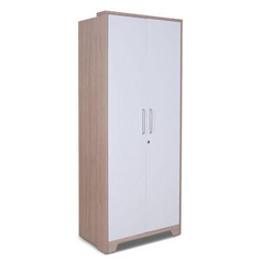 buy White face 2 door Wardrobe