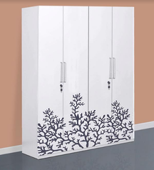 buy Fatima 4 door wardrobe