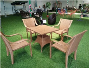 4 seater rattan complete beach   abuja lagos porthrcourt nigeria lane7.index