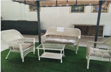 White rattan 4 seater outddoor sofa   abuja lagos porthrcourt nigeria lane7.index
