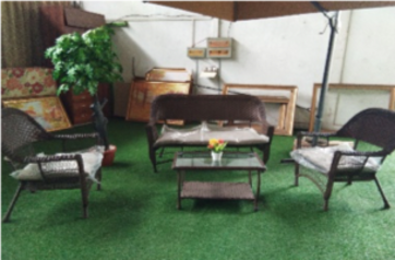 Black rattan 4 seater outddoor sofa   abuja lagos porthrcourt nigeria lane7.index