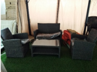 Stylish 4 seater grey cane set   abuja lagos porthrcourt nigeria lane7.index