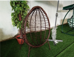 Oval outdoor relaxing chair   abuja lagos porthrcourt nigeria lane7.index