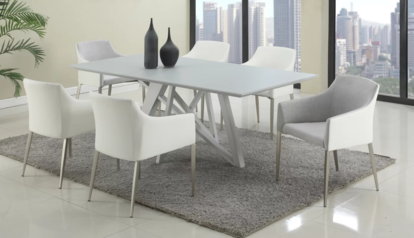 6 seater dining table in white gloss  lagos abuja portharcourt nigeria lane7.index