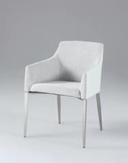 White gloss fabric chair  lagos abuja portharcourt nigeria lane7.index