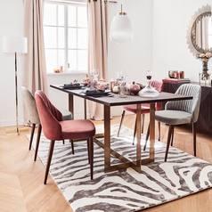 Armless dining chair   modern.index