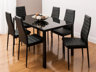 Upholstered dining chair glass table set lagos abuja portharcourt nigeria lane7.index
