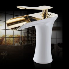 White gold bathroom tap faucet sink lagos abuja portharcourt nigeria lane7.index