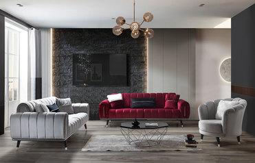 buy Pop Up Fabric Sofa Set