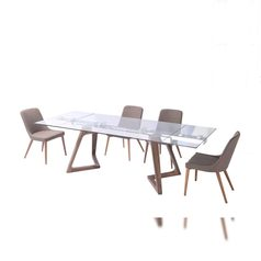 Glass dining table with extension lane7 portharcourt abuja lagos nigeria.index